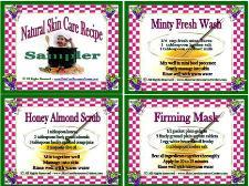 Al Natural Skin Care Recipes