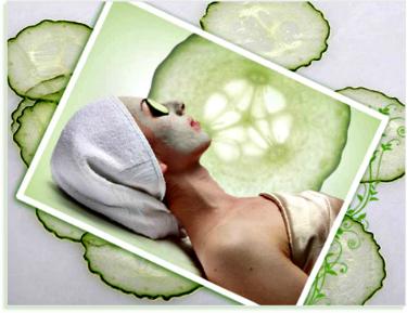 cucumber-facial