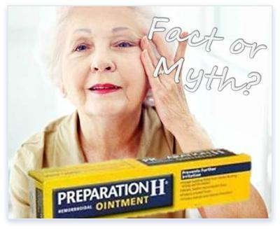 Preparation H for Eye Wrinkle Treatment