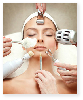 Spa skin care treatments and diy home spa face products for A skin care salon