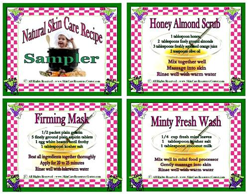 natural-skin-care-recipe-cards